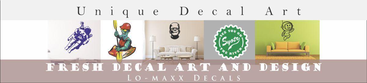 Lo-maxx Decals