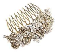 Vintage Wedding Hair Combs | eBay