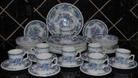 Vintage Blue Dinnerware | eBay