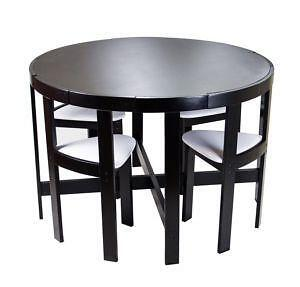 Round White Kitchen Table Sets