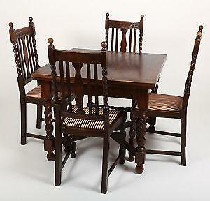 solid oak dining table and chairs danish for sale ebay antique