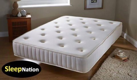 Double Memory Foam Orthopaedic Sprung Support Mattress Offer