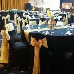 Chair Cover And Sash Hire Birmingham Fishing Deck Cinema Darwin 65p Cheap Sale Wedding Party Decorations Table Cloth Runner Napkin In Southall London Gumtree