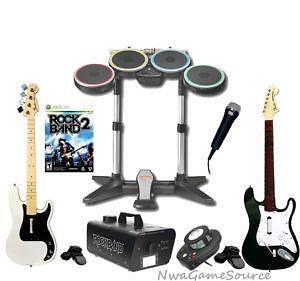 Xbox 360 Rock Band Bundle EBay