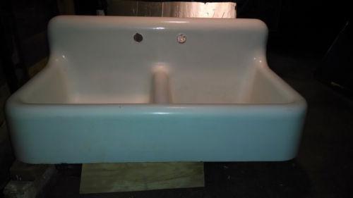 white porcelain undermount kitchen sink new kitchens enamel | ebay
