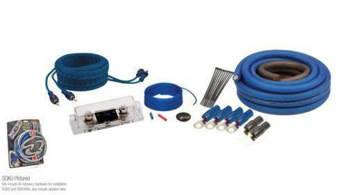 4 Channel Amp Wiring Kit