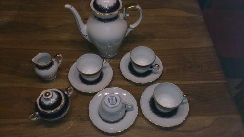 Schumann Kaffeeservice Porzellan  eBay