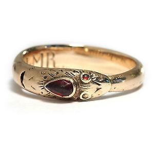 Granat Ring  eBay