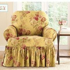 Blue Recliner Chair Custom Kids Country Slipcovers | Ebay