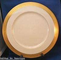 Gold Rimmed Dinner Plates | eBay