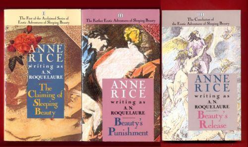 the claiming of sleeping beauty trilogy, by anne rice