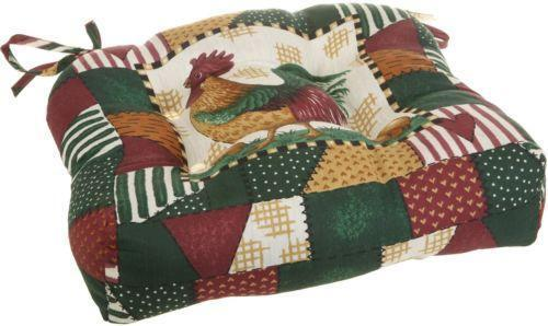 Rooster Chair Pads Home  Garden  eBay