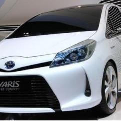 Toyota Yaris Trd Spoiler Grand New Avanza Veloz 1.3 At Front Lip: Exterior | Ebay