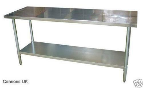 steel kitchen table island with sink stainless ebay