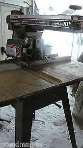 10 Radial Arm Saw For Sale