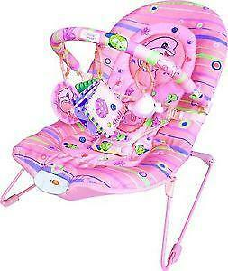 infant bouncy chair felt pads for chairs baby bouncer swings bouncers ebay rocker