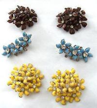 Vintage Clip on Earrings | eBay
