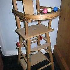 Folding Chair Trap Air Accessories Wooden High Chairs | Baby Feeding Ebay