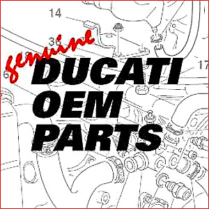 Ducati New & Used OEM Parts Available Street & Track front
