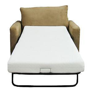 chair beds for adults outdoor wrought iron cushions sleeper ebay