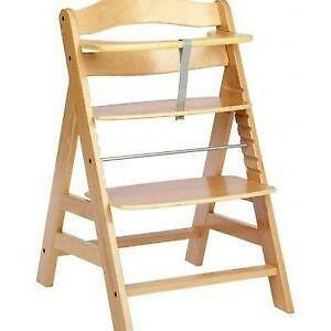 wooden high chairs for babies office chair yeovil baby feeding ebay hauck