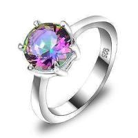 Mystic Topaz Ring   eBay