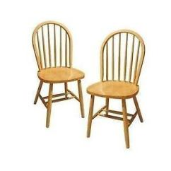 Wood Kitchen Chairs Led Lighting Wooden Ebay