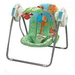 Rainforest High Chair Office Chairs Max Weight 150kg Fisher Price Baby Swing | Ebay