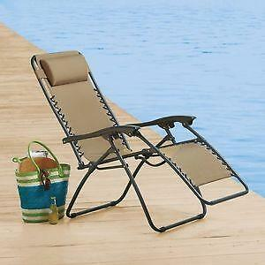 anti gravity lawn chair cover hire perthshire zero recliner: home & garden | ebay
