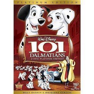 101 Dalmatians (DVD, 2008, 2-Disc Set, Platinum Edition) NEW