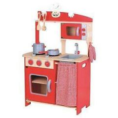 Toy Kitchens Vinyl Kitchen Flooring Wooden Childrens Play Ebay Uk Set