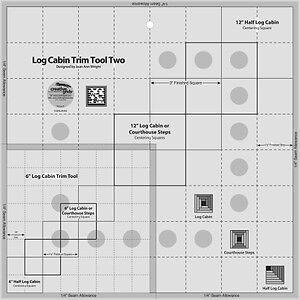 Creative Grids Log Cabin Trim Tool Two 6 Amp 12 034 Blocks