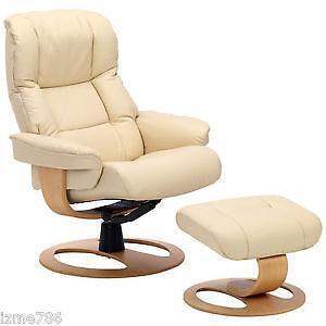 leather recliner chairs with footstool herman miller vintage ekornes stressless: furniture | ebay