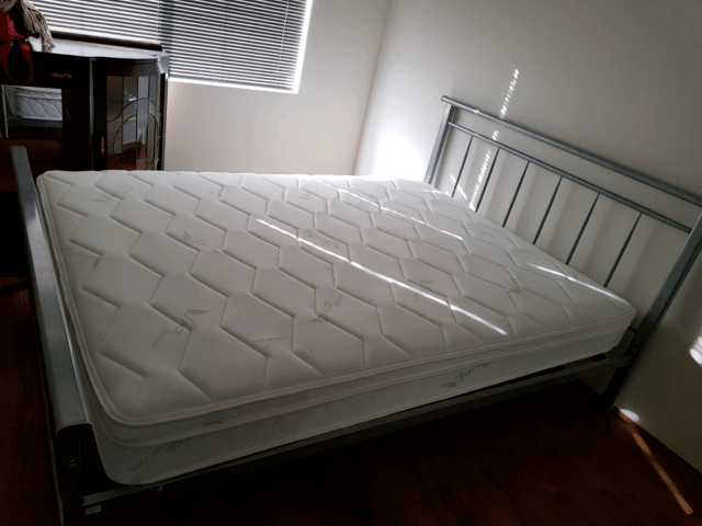 Double Bed Mattress And Frame Beds Gumtree Australia Rockingham Area Singleton 1157681388