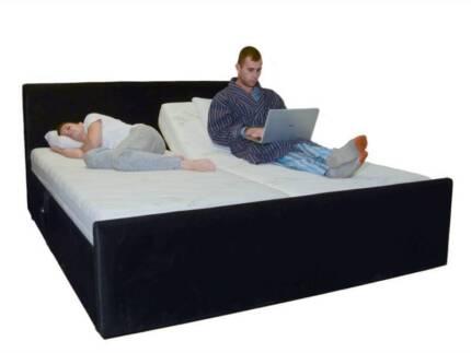 Memory Foam Mattress King Split Manual Adjule Bed