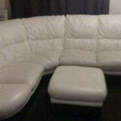 Leather Sofas Dfs Sofa Wood Frame Ebay White