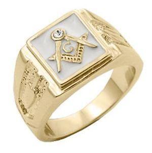 Mens 18K Solid Gold Ring  eBay