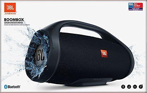JBL BOOMBOX Black SCHWARZ Tragbarer Bluetooth Lautsprecher Wasserfest OVP NEU