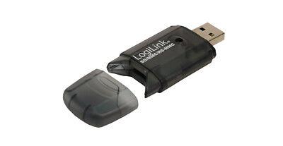 LogiLink CR0007 Cardreader Kartenleser USB 2.0 Stick extern SD/MMC 480 Mbit/s