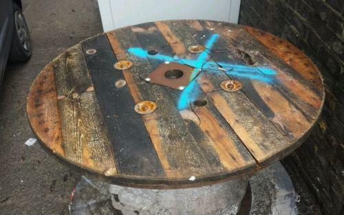 Used Wooden Cable Drums EBay