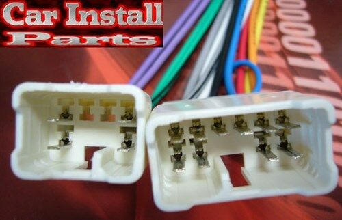 Stereo Wiring Harness Trying To Install Aftermarket Stereo 2002