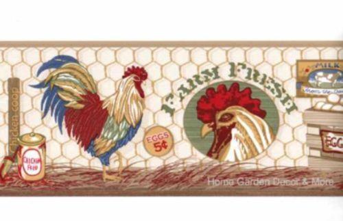 Country Kitchen Wallpaper Border  eBay