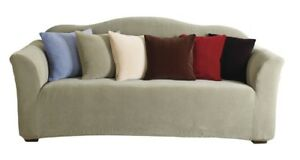 sure fit stretch pearson 3 pc sleeper sofa slipcover full bettsofa interio ch kijiji in ontario buy sell save with canada s tan new