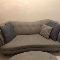 Grey 3 Seater Sofa Throw Chocolate Leather Sectional And Ottoman Dfs Moray Accent Chair Large Oval
