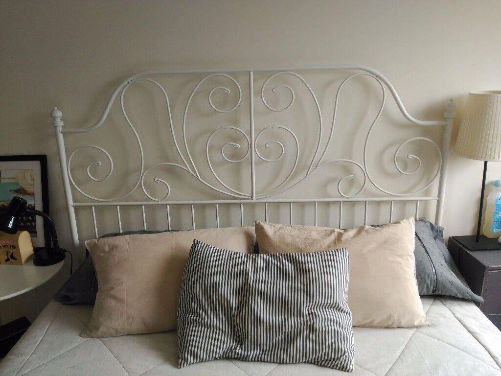 Ikea Leirvik Bed Frame King Size