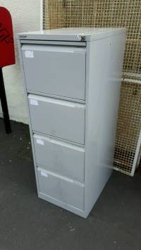 Bisley 4 Drawer Metal Filing Cabinet with Key | in Newport ...