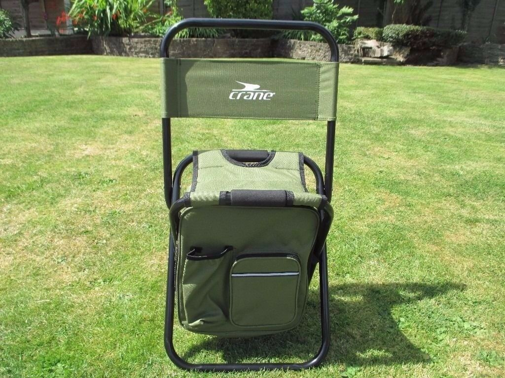 fishing chair rucksack big and tall office chairs canada cooler bag brand new in hinckley