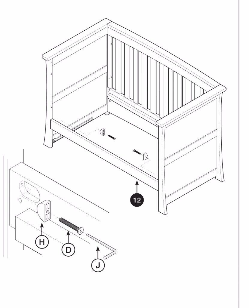 Spare Parts For Cot Beds Motorview
