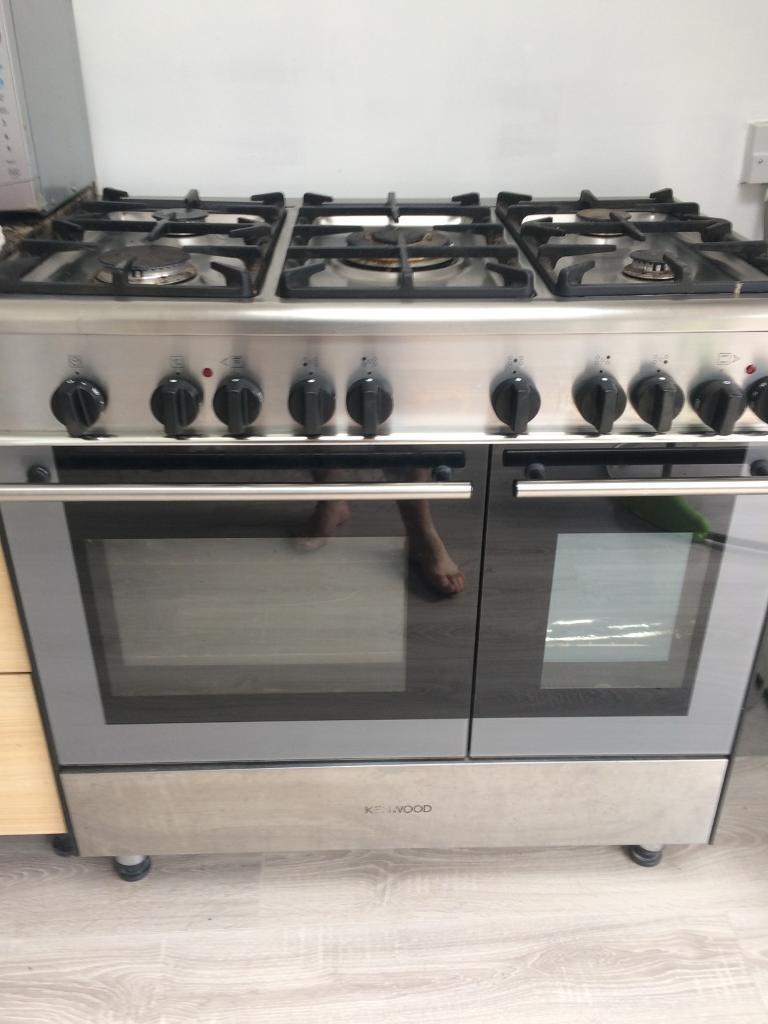 kitchen fan cover small sink cabinet kenwood range cooker   in west derby, merseyside gumtree
