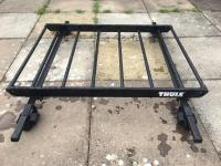 Thule roof rack / cage / basket and Halfords load bars ...